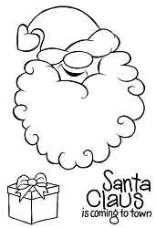 Woodware Craft - Clear Stamp - Cheeky Santa