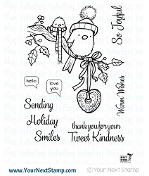 Your Next Stamp - Clear Stamp - Tweet Kindness