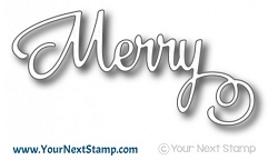 Your Next Stamp - Dies - Merry