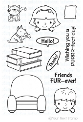 Your Next Stamp - Clear Stamp - Fur-ever Friends