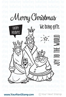 Your Next Stamp - Clear Stamp - Very Merry Wise Men
