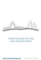 Your Next Stamp - Dies - Winter Scene Border