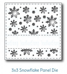Your Next Stamp - Dies - Snowflake Panel