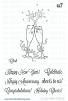 Your Next Stamp - Clear Stamp - Clink