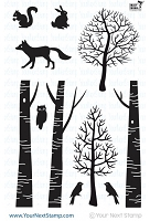 Your Next Stamp - Clear Stamp - Forest Friends