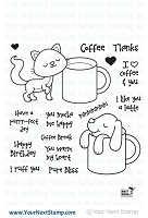 Your Next Stamp - Clear Stamp - Coffee Break