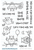 Your Next Stamp - Clear Stamp - Life's A Hoot