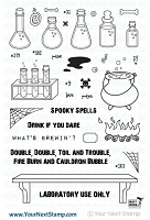 Your Next Stamp - Clear Stamp - Spooky Spells