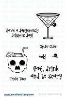 Your Next Stamp - Clear Stamp - Tricky Tonic