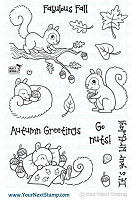 Your Next Stamp - Clear Stamp - Sandy Squirrel