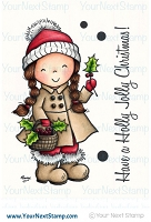 Your Next Stamp - Clear Stamp - Holly Jolly Jessica
