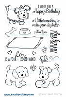 Your Next Stamp - Clear Stamp - Jessica's Puppy
