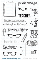 Your Next Stamp - Clear Stamp - Spectacular Teacher