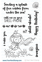 Your Next Stamp - Clear Stamp - Little Darling Mermaid