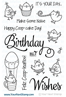 Your Next Stamp - Clear Stamp - Birthday Chickie