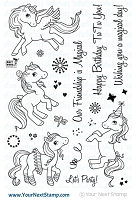 Your Next Stamp - Clear Stamp - Magical Ponies