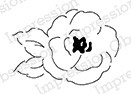 Impression Obsession - Cling Mounted Rubber Stamp - By Alesa Baker - Soft Rose