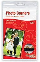 3L Scrapbook Adhesives - Paper Photo Corners - Classic Gold (108 pcs)
