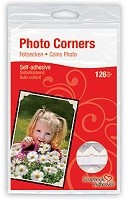 3L Scrapbook Adhesives - Paper Photo Corners - Classic Ivory (126 pcs)