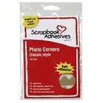 3L Scrapbook Adhesives - Paper Photo Corners - Classic Kraft (108pcs)