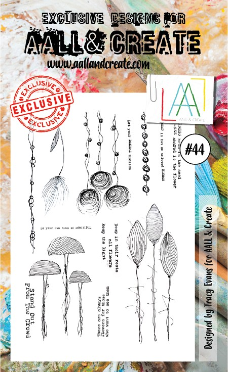 AALL & Create - Clear Stamp - Set #44