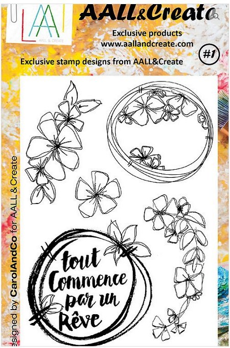 AALL & Create - Clear Stamp - Set #1
