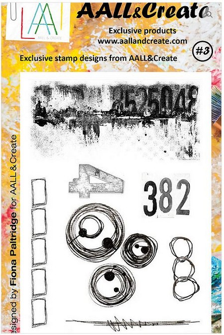 AALL & Create - Clear Stamp - Set #3