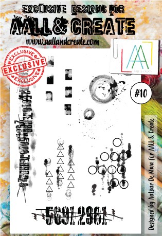 AALL & Create - Clear Stamp - Set #10