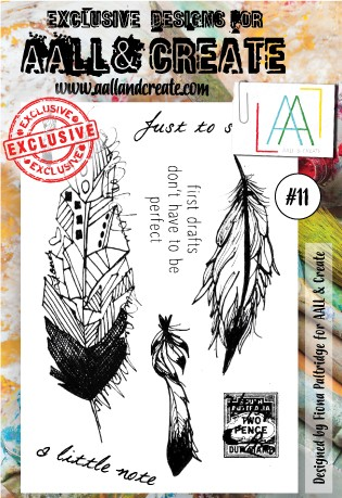 AALL & Create - Clear Stamp A6 size - Set #11