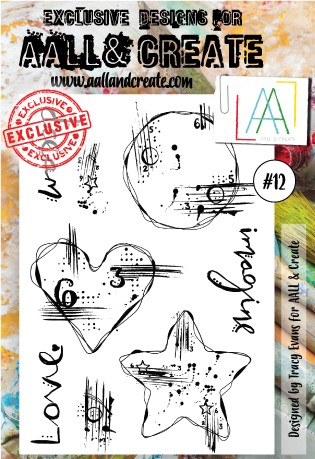 AALL & Create - Clear Stamp - Set #12