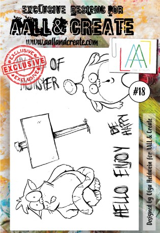 AALL & Create - Clear Stamp - Set #18