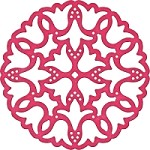 Cheery Lynn - Die - Dutch Daisy Super Doily 2