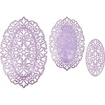 Cheery Lynn - Die - Dutch Daisy Oval Doily