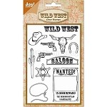 Joy Crafts - Clear Stamp - Wild West