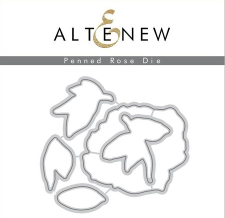 Altenew - Cutting Dies - Penned Rose