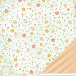 "American Crafts - Dear Lizzy Neapolitan  12""x12"" Paper - Sweet Sundress"