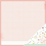 "American Crafts - Dear Lizzy Neapolitan  12""x12"" Paper - Simple Romance"