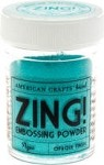American Crafts Embossing Powder - Zing Opaque Aqua