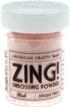 American Crafts Embossing Powder - Zing Opaque Blush