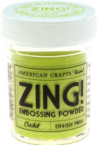 American Crafts Embossing Powder - Zing Opaque Cricket