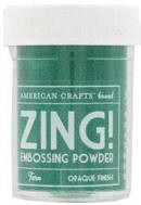 American Crafts Embossing Powder - Zing Opaque Fern