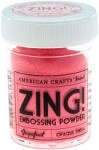 American Crafts Embossing Powder - Zing Opaque Grapefruit