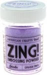 American Crafts Embossing Powder - Zing Opaque Lavender