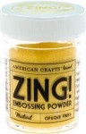 American Crafts Embossing Powder - Zing Opaque Mustard