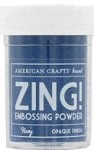 American Crafts Embossing Powder - Zing Opaque Navy