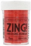 American Crafts Embossing Powder - Zing Opaque Poppy