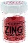 American Crafts Embossing Powder - Zing Opaque Rouge