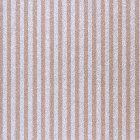 American Crafts - Pow! Collection - 12x12 Glitter Paper - Stripes - Caramel
