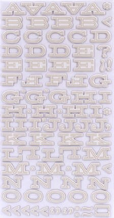 American Crafts Thickers Chipboard Stickers - Peachy Keen Series - Fellow -Fog