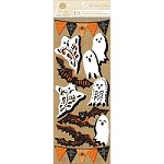 "Anna Griffin - Bat-Tastic Collection - 3D Stickers Ghosts, Bats & Pennants (4.75"" x 12"")"